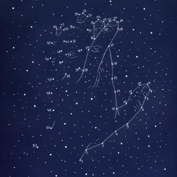 """""""constelaciones a lápiz #1"""""""