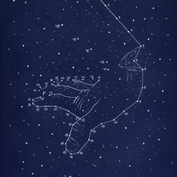 """""""constelaciones a lápiz #2"""""""