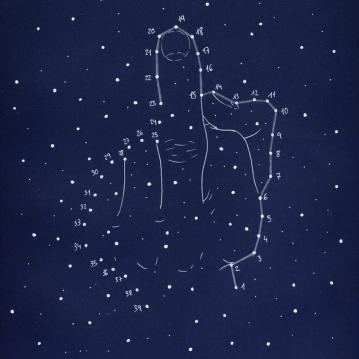 """""""constelaciones a lápiz #3"""""""