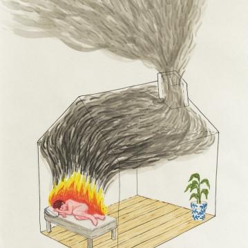 """""""la casa en llamas"""""""