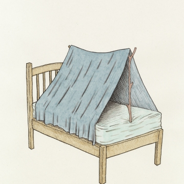 """cama de campaña"""