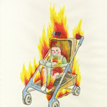 """combustión infantil"""