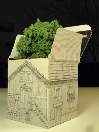 """casa sin jardín"""
