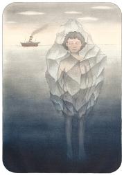 """""""una niña gigante congelada"""""""